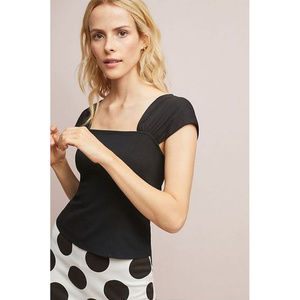 """NWT Anthropologie """"Rendezvous Top,"""" size XL"""